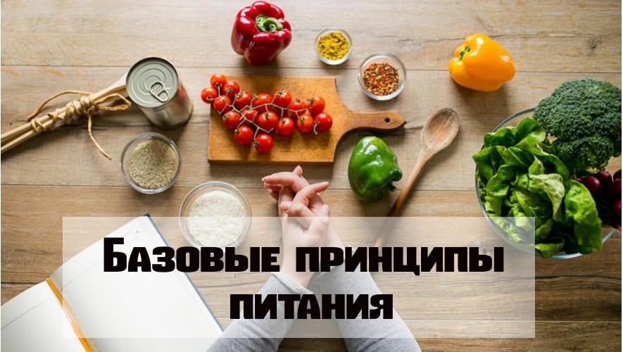 Базоввые принципы питания