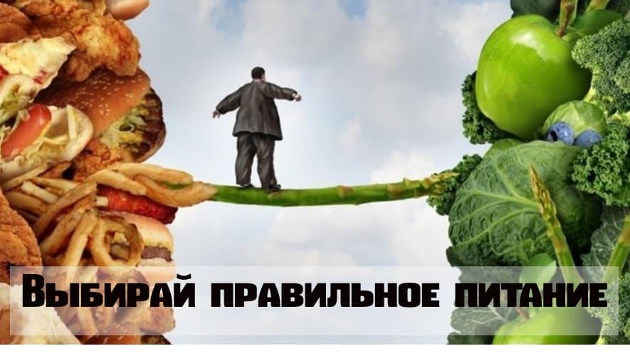 Принципы правильного питания Выбирай правиьное пиатние