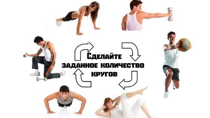 Тренировки по кругу (линейная тренировка)