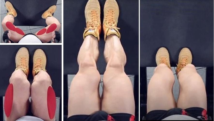 Варианты постановок ног